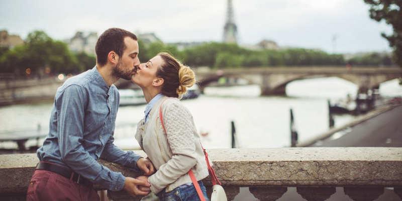 Rencontre romantique